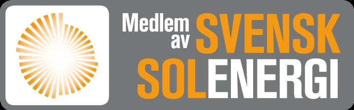 Stolt medlem av Svensk Solenergi